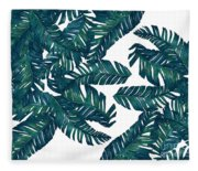 Palm Tree 7 Fleece Blanket