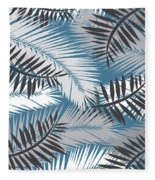 Palm Trees 10 Fleece Blanket