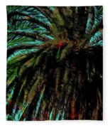 Palm Trees 40 Version 2 Fleece Blanket