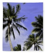 Palm Trees Fleece Blanket