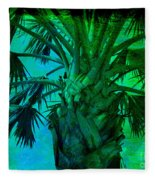 Palm Visions Fleece Blanket