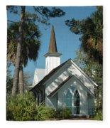 Palmetto Bluff Chapel Fleece Blanket