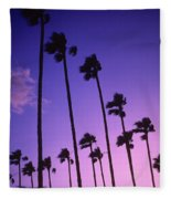 Palms Fleece Blanket