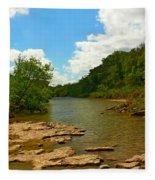 Paluxy River Fleece Blanket