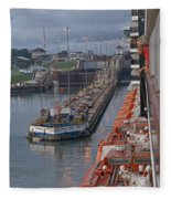 Panama Canal Fleece Blanket