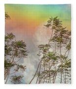 Panama Rainbow Fleece Blanket