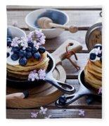 Pancake Fleece Blanket