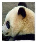 Panda Snack Fleece Blanket