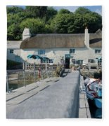 Pandora Inn Cornwall Fleece Blanket