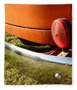 Panel Truck Bumper Fleece Blanket