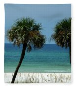 Panhandle Beaches Fleece Blanket