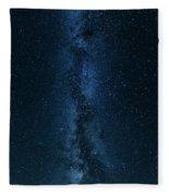 Panorama Of The Milky Way Fleece Blanket