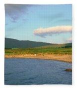 Panoramic View Of Country Cork, Ireland Fleece Blanket