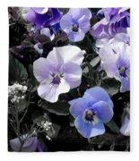 Violas Ocean Dream Fleece Blanket