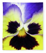 Pansy 09 - Thoughts Of You Fleece Blanket