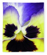 Pansy 10 - Thoughts Of You Fleece Blanket