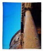 Pantheon Column Fleece Blanket