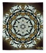 Panthera Tigris Kaleidoscope Fleece Blanket