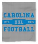Panthers Retro Shirt Fleece Blanket