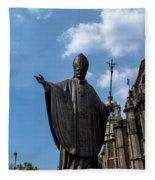 Papa Juan Pablo II - Mexico City I Fleece Blanket