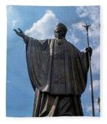 Papa Juan Pablo II - Mexico City IIi Fleece Blanket