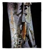 Paper Birch Fleece Blanket