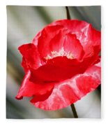 Paper Flower II Fleece Blanket