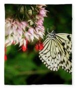 Paper Kite Fleece Blanket