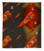 Paprika And Fish Is Also A Dish Fleece Blanket