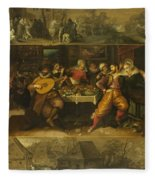 Parable Of The Prodigal Son Fleece Blanket