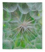 Parachutes For Seeds Fleece Blanket