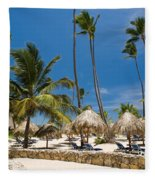 Paradise Beach Fleece Blanket