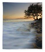 Paradise Gold Fleece Blanket