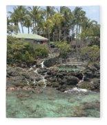 Paradise In Coki Fleece Blanket