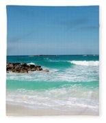 Paradise Island Fleece Blanket