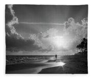 Paradise Walk Fleece Blanket