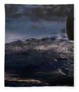 Parallel Universe In Discord Fleece Blanket