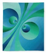 Parallel Universes Fleece Blanket