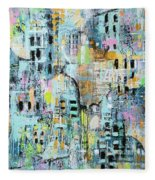 Parallel Worlds Fleece Blanket