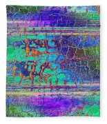 Parched - Abstract Art Fleece Blanket