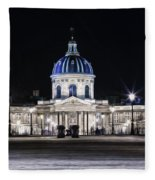 Paris At Night 20 Fleece Blanket