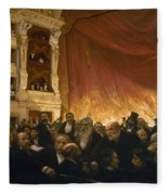 Paris: Comedie Francais Fleece Blanket