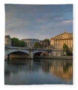 Paris Dawn Fleece Blanket