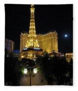 Paris Las Vegas Fleece Blanket