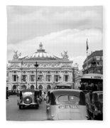 Paris Opera 1935 Fleece Blanket