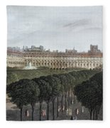 Paris: Palais Royal, 1821 Fleece Blanket