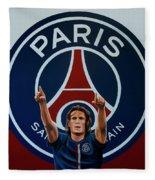 Paris Saint Germain Painting Fleece Blanket