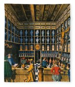 Parisian Pharmacy, 1624 Fleece Blanket