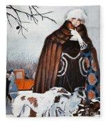 Parisian Style, 1921 Fleece Blanket