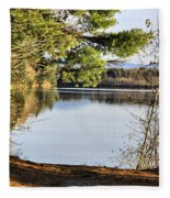 Park And View Fleece Blanket